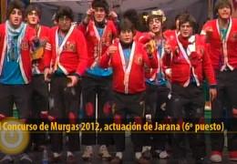 Actuación de Jarana (Final 2012, 6º puesto)