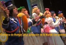 Actuación de Al Maridi (Final 2012, 3er puesto)