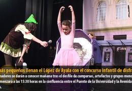 Los más pequeños llenan el López de Ayala con el concurso infantil de disfraces