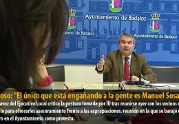 """Fragoso: """"El único que está engañando a la gente es Manuel Sosa"""""""