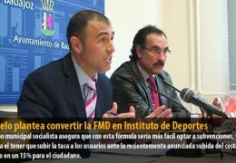 Pajuelo plantea convertir la FMD en Instituto de Deportes