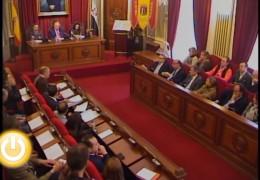 Pleno extraordinario de marzo de 2012 del Ayuntamiento de Badajoz