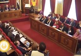 Pleno de marzo de 2012 del Ayuntamiento de Badajoz