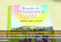 Presentado el programa de las Jornadas de Primavera para mayores