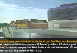 Luz verde a un nuevo parque comercial en San Roque y un `Decathlon´ en la Avenida de Elvas