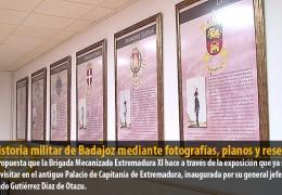 La historia militar de Badajoz mediante fotografías, planos y reseñas