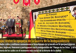 Badajoz revive la epopeya de la Guerra de la Independencia