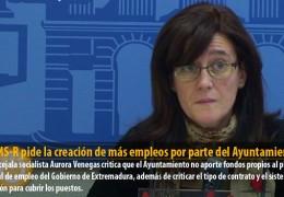 El GMS-R pide la creación de más empleos por parte del Ayuntamiento