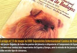 IFEBA acoge el 13 de mayo la XXXI Exposición Internacional Canina de Badajoz