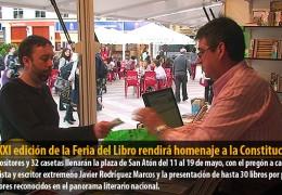 La XXXI edición de la Feria del Libro rendirá homenaje a la Constitución