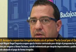 El PSOE denuncia supuestas irregularidades en el primer Pacto Local por el Empleo