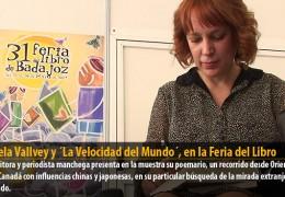 Ángela Vallvey y ´La Velocidad del Mundo´, en la Feria del Libro
