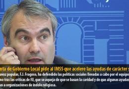 La Junta de Gobierno Local pide al IMSS que acelere las ayudas de carácter social