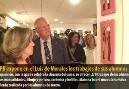 La UPB expone en el Luis de Morales los trabajos de sus alumnos