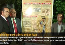 Cartel de lujo para la Feria de San Juan