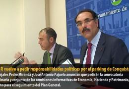 El GMS-R vuelve a pedir responsabilidades políticas por el parking de Conquistadores