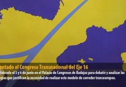 Presentado el Congreso Transnacional del Eje 16