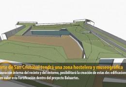 El fuerte de San Cristóbal tendrá una zona hostelera y museográfica