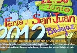 Presentado el cartel anunciador de la Feria de San Juan 2012