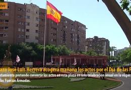 La Plaza José Luis Herrera acogerá mañana los actos por el Día de las FFAA