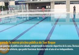 Inaugurada la nueva piscina pública de San Roque