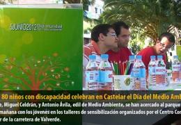 Más de 80 niños con discapacidad celebran en Castelar el Día del Medio Ambiente