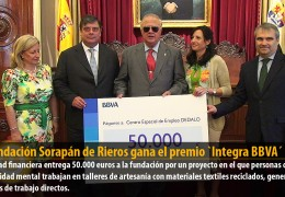 La Fundación Sorapán de Rieros gana el premio `Integra BBVA´