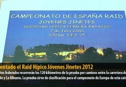 Presentado el Raid Hípico Jóvenes Jinetes 2012