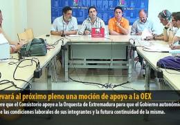 IU llevará al próximo pleno una moción de apoyo a la OEX