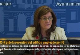 El GMS-R pide la reversión del edificio empleado por FS