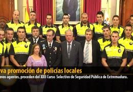 Nueva promoción de policías locales