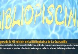Inaugurada la XII edición de la Bibliopiscina de La Granadilla