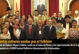 Distintas culturas unidas por el folklore