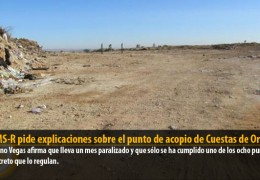 El GMS-R pide explicaciones sobre el punto de acopio de Cuestas de Orinaza