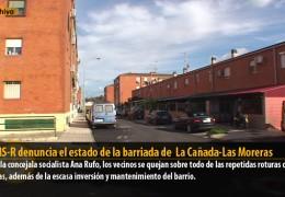El GMS-R denuncia el estado de la barriada de  La Cañada-Las Moreras