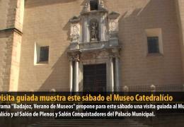Una visita guiada muestra este sábado el Museo Catedralício