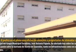 El GMS-R pedirá en el pleno una oficina de atención a propietarios de viviendas sociales