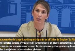 """Cuarenta parados de larga duración participarán en el Taller de Empleo """"La Aldaba"""""""