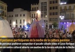 75.000 personas participaron en la noche de la cultura pacense