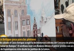El Casco Antiguo posa para los pintores