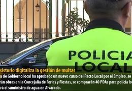 El Consistorio digitaliza la gestión de multas