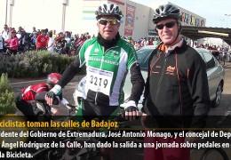 5.000 ciclistas toman las calles de Badajoz