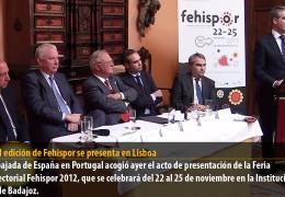 La XXIII edición de Fehispor se presenta en Lisboa