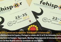 """Fehispor 2012 contará con la exposición """"Real Madrid 110 Aniversario"""""""