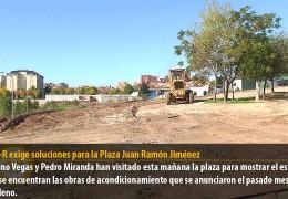 El GMS-R exige soluciones para la Plaza Juan Ramón Jiménez