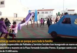 Valdebótoa ya cuenta con un parque para toda la familia
