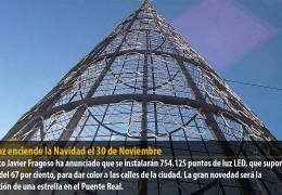 Badajoz enciende la Navidad el 30 de Noviembre