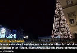 La ciudad se viste de Navidad