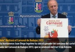 """""""Sardileón"""" ilustrará el Carnaval de Badajoz 2013"""