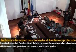 2013 duplicará la formación para policía local, bomberos y protección civil